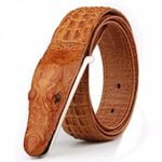 Cow Leather Crocodile Belts