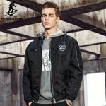 New Spring jacket coat men clothing fashion male bomber jacket top quality outwear black army green