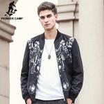 Hip hop men jacket coat clothing high quality streetwear male coat fashion casual printed jacket men