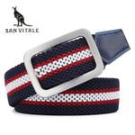 Men Canvas Fashion Belt Military Equipment Strap Men's Belts Luxury For Men Tactical Cintos