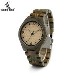 Mens Wooden Watch Digital Dial Face Luminous Needle 20.4 cm Length Wood Band Classic Watch Accept