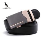 Men Belts Genuine Leather Luxury Strap Male Belt for Man Buckle Fancy Vintage Jeans