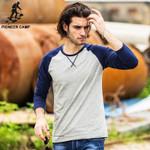 Spring Long Sleeve T Shirt Men clothing quality Slim Fit Men Casual Long TShirts Long-Sleeve T-Shirt men