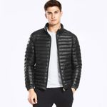 Winter Seamless Thin Down Jacket Men Clothing Casual White Duck Down 90% Fashion Men Coat Man Outerwear