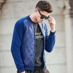 new style patchwork hoodies men male thick fleece hoodies quality autumn winter warm sweatshirts men