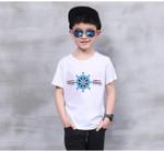 Kids New Design 100% Cotton T shirt Boys Kids Short Sleeve Tops T-shirt Tees Children Clothes Girls Clothing