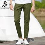 New Classic Solid Pants Men Clothing Spring trousers male Top quality cotton comfortable pants for men