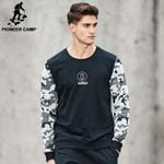 New Spring hoodies men clothing patchwork Camouflage sweatshirt male top quality fashion tracksuit