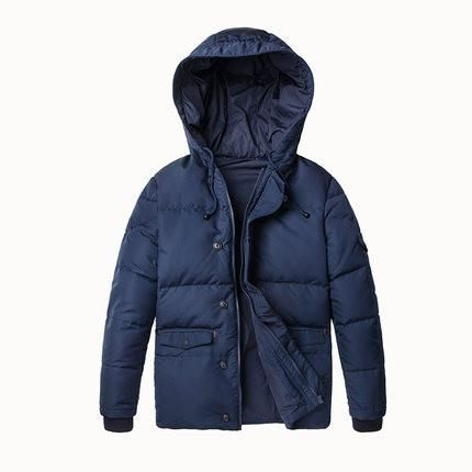 Men Long Thick Down Coats Clothing Hooded Down Jacket Men's Casual Down Male Winter Outerwear