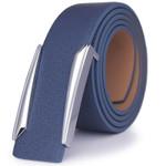 Luxury Solid Brass Buckle Leather Belt