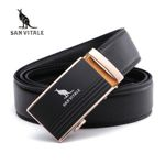 Men's Belts Genuine Leather Luxury Designer Strap Male Belt for Man Automatic Buckle Jeans
