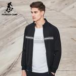 New design spring jacket coat men clothing fashion black jacket men top quality casual coat male