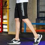 New design summer shorts men clothing fashion printed workout shorts male top quality black grey