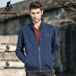 clothing fleece jacket men Spring winter fleece dark blue coat men top quality male casual warm jacket