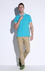 Men Polo Shirt 100% Cotton Men Polo Shirts Man Short Sleeve Solid  Polo Shirt Male Classic