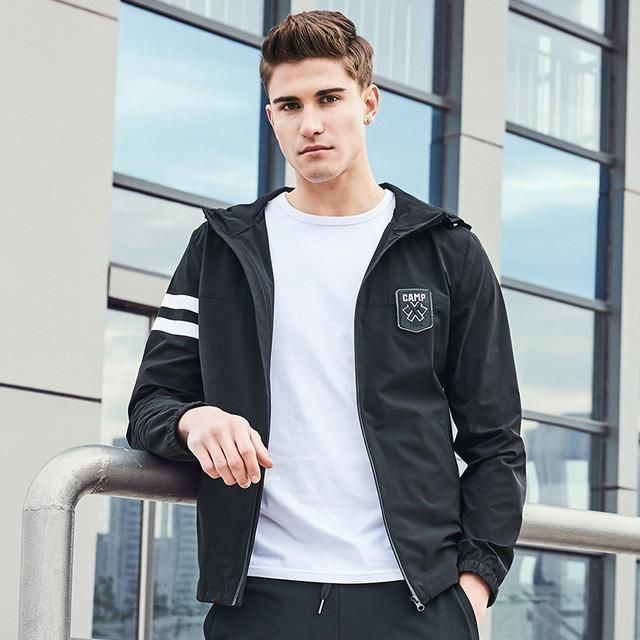 jacket coat men New arrival fashion hoodie jacket men top quality casual coat male