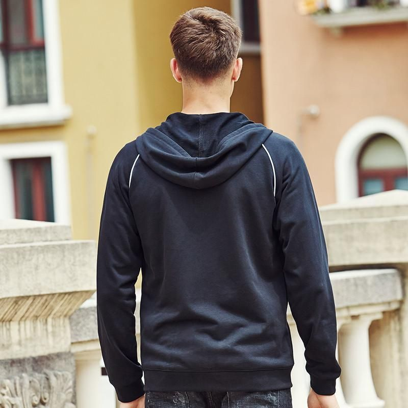 spring autumn hoodies men clothing printed hoodies fashion male hoodie sweatshirts black hoodies