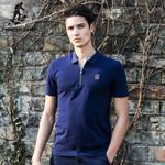 Men's polo shirt youth casual polo shirt me slim fit polo shirt solid  jerseys clothing