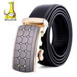 Men Automatic Buckle Designer Leather Belt Business Belt Men Strap Top Quality and Luxury Cummerbund