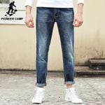 Jeans men clothing high quality Slim male Casual Pants Quality Cotton Denim trousers For Men