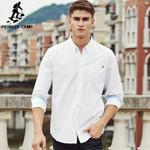 Spring new fashion men shirt long sleeve clothing quality cotton soft shirt men casual male shirt