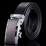 Genuine leather belts for men men belt automatic gold silver buckle simple feminine