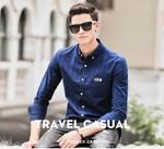 Plaid Shirt Men Long Sleeve New clothing Top quality slim fit designer business fashion Male Shirt