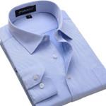 Plus Size 6XL New Autumn Men Dress Shirt Long-sleeve Twill Fashion Formal Clothing Slim Fit Business Men Casual Shirt