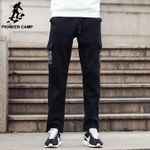 New arrival autumn winter pants men black clothing male trousers