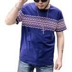 high quality men cotton T-shirt  summer's casual  fashion short-sleeved T-shirt The men