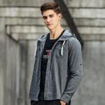 New design hoodie shirt men clothing fashion solid denim shirt male top quality casual shirts