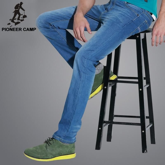 New fashion men jeans casual men 100%cotton pants thin breathable men clothes
