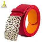 New arrival Top quality leather women belt fashion metal buckle designer belts for women