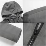 New Trench Coat Men clothing quality Trench Coat male Clothing Long black grey Jackets & Coats