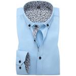 New Autumn Mens Dress Shirts 100% Cotton Regular Fit Long Sleeve Floral Patchwork Men Casual Business Formal Shirt