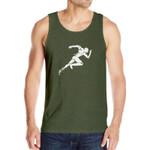 Fashion Tank Tops man 97% Cotton O-Neck Summer Male Sleeveless Vest Casual Printin High elasticity trend 6 9 8