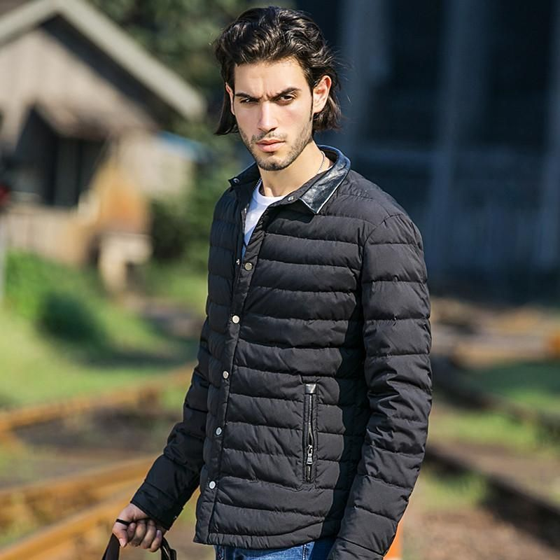 Clothing winter down jacket men top quality 90% white duck down coat men casual winter coat male wind proof