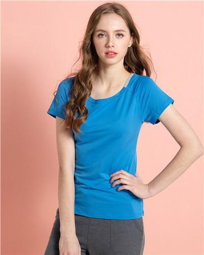 Women Tee Fast Dry T-shirt Breathable Female Solid Raglan Sleeve Tee Polyester Womens Clothes