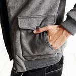 New Autumn Winter Bomber Jacket Men Fashion Casual Coats Clothing