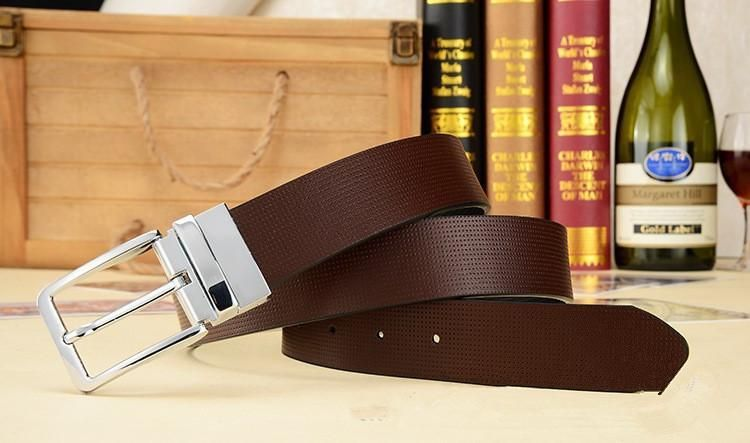 New fashion designer men's belts high quality cow genuine leather vintage pin buckles ceinture bussiness Male straps luxury