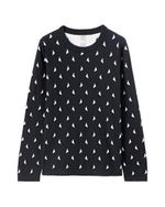 Women Sweater Pull Femme Long Sleeves Pullover Marled Jumper Crewneck Sweater Clothing