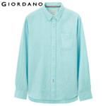 Men Shirt Turn-down Collar Blouse Linen Shirts Men Long Sleeves Tops Clothing Casual Shirt