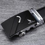 Fashion designer leather strap male automatic buckle belts for men authentic girdle trend men's belts ceinture