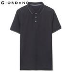 Men Polo Clothing Short Sleeves Polo Shirt Casual Tops Polo Heather Color Tops