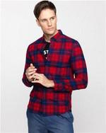 Men Shirts Long Sleeves Plaid Shirt Soft Flannel Checked Shirt Tops Casual Warm Blusas Hombre