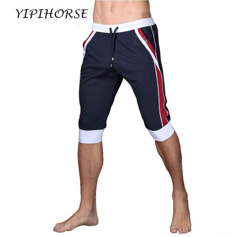 Summer Sporting shorts men trousers elastic men shorts Gyms mens fashion quick dry outer wear trousers at home
