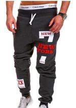 Men Joggers Male Trousers Men Pants Casual Pants Sweatpants Jogger Black XXXL