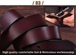 Cow hide genuine leather belts for men designer belts Strap male pin buckle fancy vintage jeans