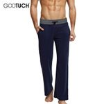 Men's Trousers Pajamas Soft Men's Sleep Bottoms Home wear Lounge Pants Pajama Casual Loose Home Clothing