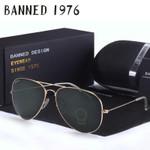 Top quality Glass lens designer Sunglasses women men vintage aviation sunglasses feminin new shades oculos